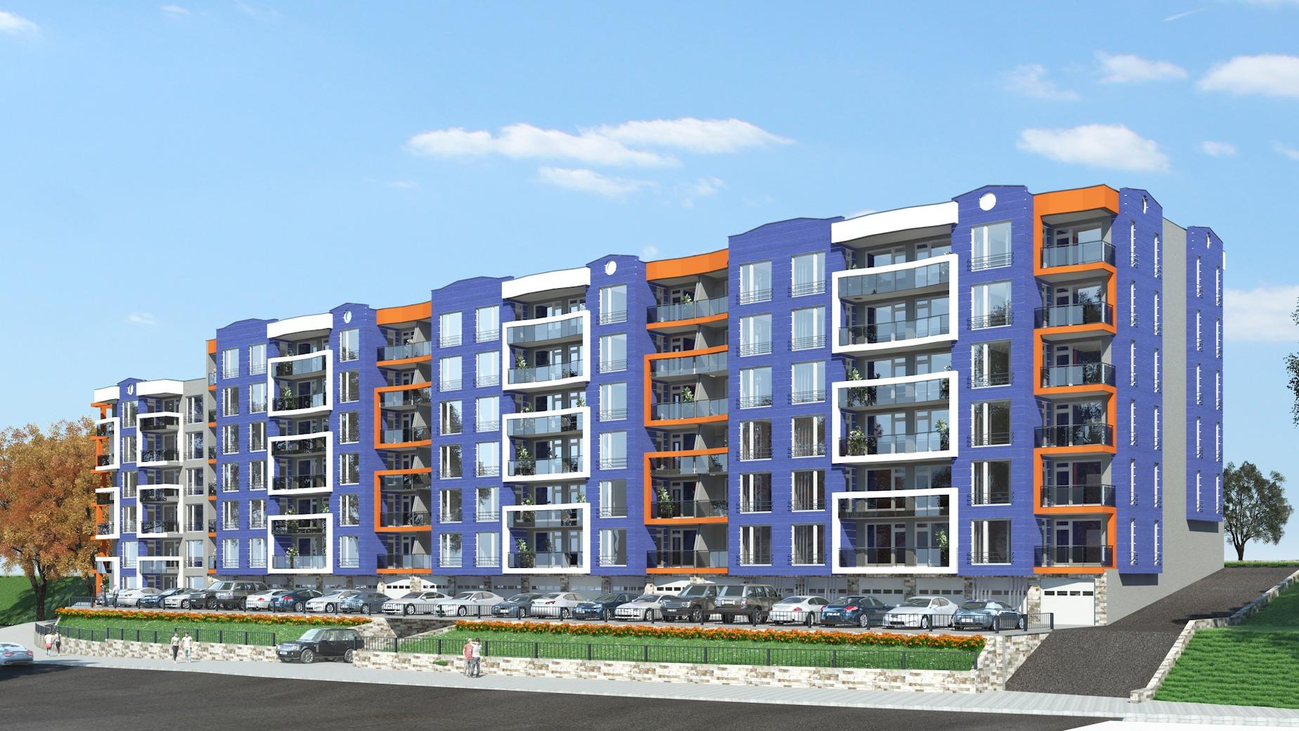 Многофамилна жилищна сграда в Кърджали - кв Възрожденци