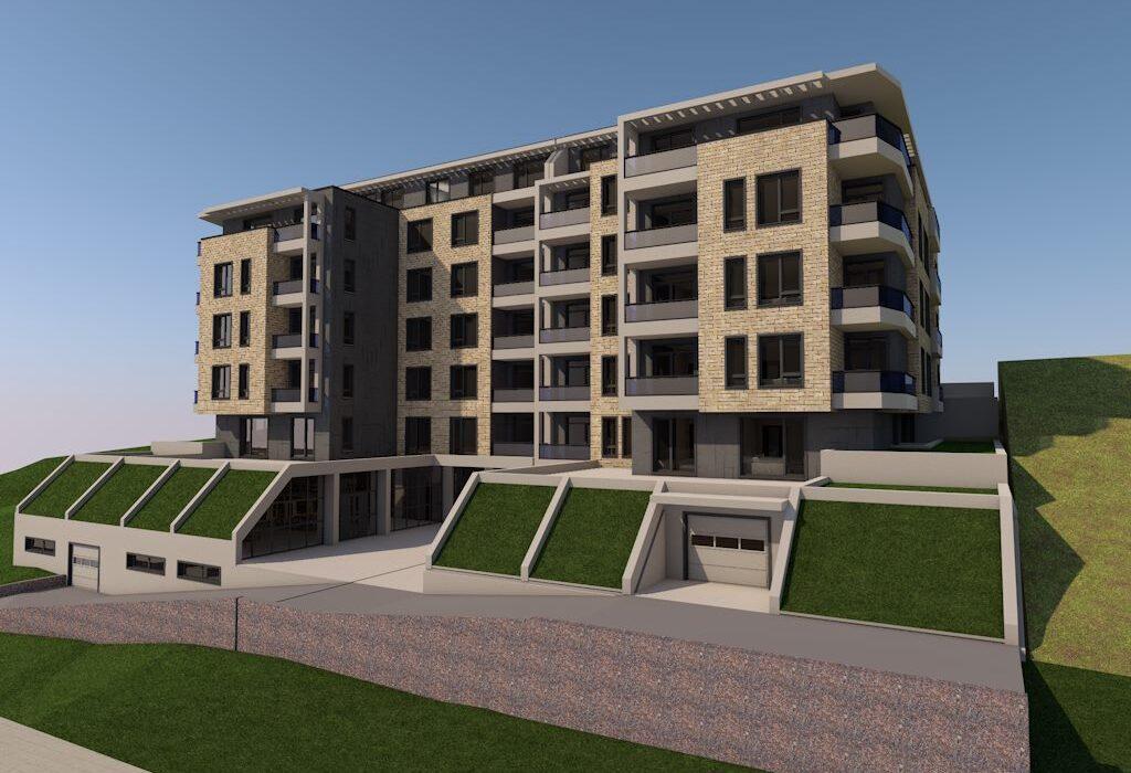 Многофамина жилищна сграда в Кърджали